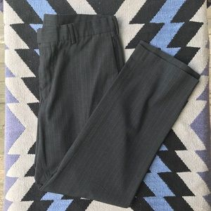 Perry Ellis Portfolio - navy pinstripe dress pants